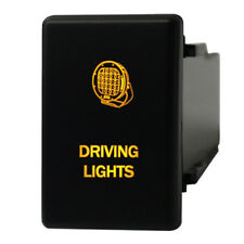Push Switch C120O DRIVING LIGHTS 12V 3A Isuzu DMax Holden Colorado on-off LED AM