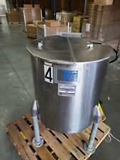 60 Gallon Perma San 316 Stainless Steel Jacketed Mixing Tank Pharmaceutical Amp Co