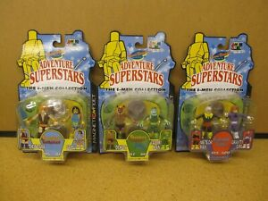 Hanna-Barbera Adventure Superstars Thundarr Barbarian & Galaxy Trio Toynami NEW!
