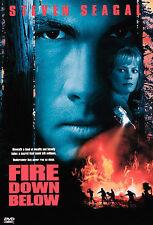 FIRE DOWN BELOW (1998) DVD NM cond. snapcase STEVEN SEAGAL FS/WS