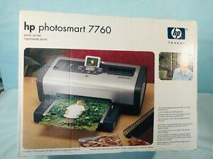 HP Photosmart 7760 Photo Digital Inkjet Color Desktop Printer - New in Open Box