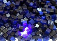 African Blue Sapphire Gemstone Rough Wholesale Lot Natural 250 Ct Cube Shape