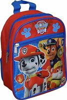 "Nickelodeon Paw Patrol 10"" Toddler Mini Backpack Color: Blue, Red & Purple"