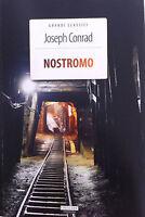 Nostromo Joseph Conrad Versione integrale Crescere Edizioni LIBRO Nuovo