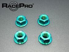 Racepro - Moto Posteriori Pignone - Titanio Dadi - M8 x 1.25mm - x4 - Verde