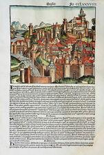GROSSBRITANNIEN ENGLAND ANGLIA SPANIEN HISPANIA SPAIN WELT CHRONIK SCHEDEL 1493