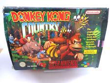 Nintendo SNES Spiel - Donkey Kong Country 1 (mit OVP)(PAL) 11405580