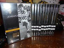 11 DVD JUVENTUSIASMANTE OPERA COMPLETA JUVENTUS JUVE FC CALCIO SIVORI PLATINI