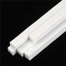 NEW Plastruct Square Rod Styrene 5/32x5/32x10  (5) 90790