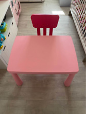Table mammut IKEA enfant plus chaise