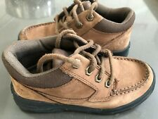 Boys Timberland Brown Ankle Real Suede Boots Kids UK 12 EU30.5 Perfect condition