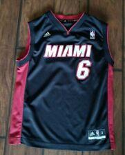 LeBron James Youth Miami Heat NBA Basketball Adidas Jersey - Size Youth Large