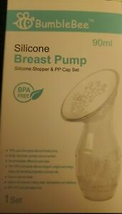 Bumble Bee Silicone Breast Pump 90ml BPA free