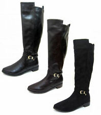 Zip Spot On Synthetic Boots for Women