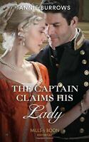 Burrows, Annie, The Captain Claims His Lady (Brides for Bachelors, Book 3), Very