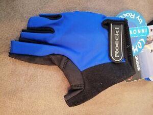 Roeckl Handschuhe NORDIC WALKING Gr. 8 Nr. 3601-107 Neu blau