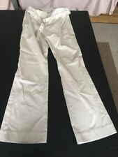 CITY DKNY  Women's Cream Trousers  With Belt Very Smart Size 8 New