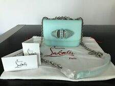 CHRISTIAN LOUBOUTIN Baby Sweet Charity' Spiked Shoulder/Crossbody Bag NWT