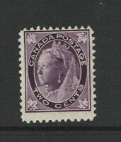 Canada SC# 68, Mint Hinged, some gum toning - S11369