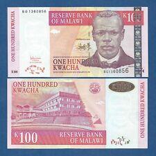 MALAWI -- 100 KWACHA ( 2005 ) -- UNC -- PICK 54a .