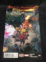 Age of Ultron vs Marvel Zombies #4 Battleworld Issue Marvel Comics  Avengers VF