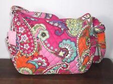 VERA BRADLEY ON-THE-GO CROSSBODY SHOULDER BAG ~ Pink Swirls ~ MSRP $70 ~ NWT