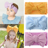 Baby Girls Fashion Bow Headband Hairband Toddler Turban Knot Head Wrap Acces