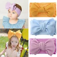 Baby Girls Fashion Bow Headband Hairband Toddler Turban Knot Head Wrap Acces