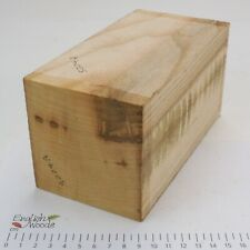 English Ash wood turning or carving spindle blank.     92 x 92 x 175mm.    5224A