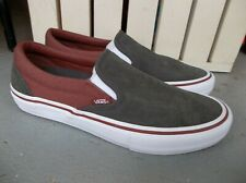 NWT MEN'S VANS SLIP ON PRO HEAVY TWILL SNEAKERS/SHOES SIZE 9.BRAND NEW FOR 2020