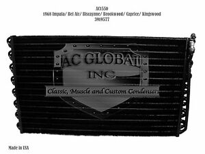 1968 68 Chevy Impala Bel Air Caprice Biscayne AC Condenser OEM 3919577 AC1550