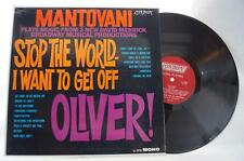 Vintage Mantovani Stop The World I Want To Get Off Olivier! Album Vinyl LP tthc