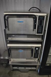 Set of 2 Turbochef Tornado NGC High Speed Convection Microwave Oven WORKS GREAT!