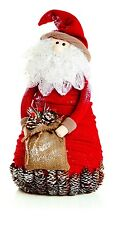 Sparkle Santa Christmas Decoration 50cm High
