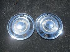 lot of 2 1959 Chrysler New Yorker hubcaps wheel covers