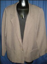 VTG Dark Tan Retro Smith & Jones Coat Jacket Suit M Med Retro GU9 Funky Groovy