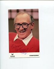 Bill Tidy Countdown Comic Strip Cartoonist Artist Author Signed Autograph Photo