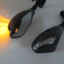 LED TURN SIGNAL SIDE MIRRORS FOR Kawasaki Ninja ZX6R ZX6RR ZX7R ZX9R