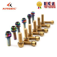 KRSEC Handlebar Stem Screws M5/M6*18mm Road MTB Mountain Bike Bolts 6pcs/Boxed
