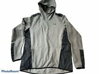 Under Armour Cold Gear Mens XL Hoodie Jacket Fleece Insulated Pullover Pockets