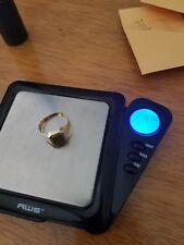 men 18k solid gold ring
