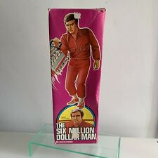 The Six Million Dollar Man Vintage Action Figure Boxed 1975 Denys Fisher Bionic!