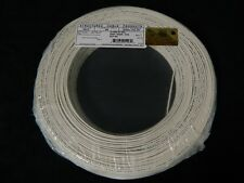 22 GAUGE 2 CONDUCTOR 200 FT WHITE ALARM WIRE SOLID COPPER HOME SECURITY CABLE