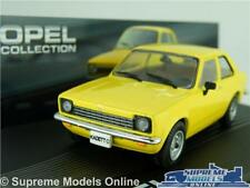 OPEL KADETT C Model Car 1 43 Scale Yellow IXO Collection VAUXHALL Chevette K8