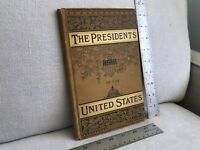 THE PRESIDENTS OF THE UNITED STATES 1881 SALESMAN'S SAMPLE FINE CONDITION