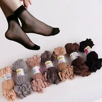 10 Pairs Women Ultra Thin Elastic Silk Girls Short Stockings Ankle Low Cut Socks