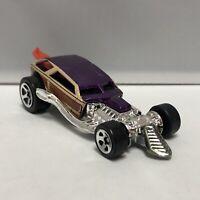 Hot Wheels Purple Surf Crate 1:64 Scale Diecast Toy Car Model Mattel