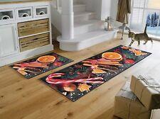 wash+dry Teppich waschbar Fußmatte Türmatte Bodenmatte 75x 120 cm Winter Tales