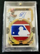 JP Crawford 2018 Topps Five Star Auto RC Autograph Rookie Logoman MLB Patch 1/1