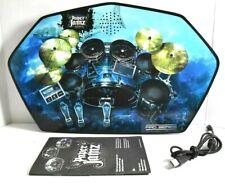 Pro Series Drum Kit Set Paper Jamz Jams WowWee Blue Shark Beat Instrument Used